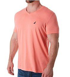 Nautica 100% Cotton V-Neck T-Shirt V94770