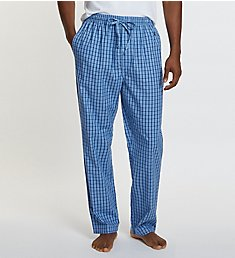 Nautica Anchor 100% Cotton Plaid Sleep Pant WP43S5