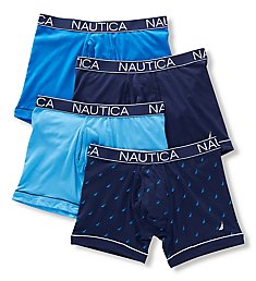 Nautica Stretch Boxer Briefs - 4 Pack X68404