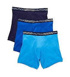 Nautica Cotton Boxer Briefs - 3 Pack Y60304
