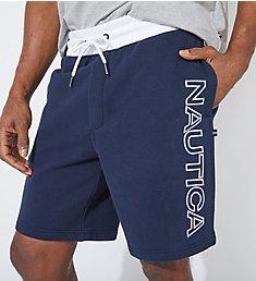 Nautica Big Man Fleece Knit Logo Short Z01170
