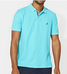 Nautica Big Man Anchor Solid Deck Polo Shirt Z81101