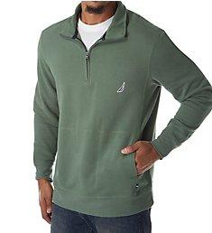 Nautica Big Man Fleece Long Sleeve 1/4 Zip Pullover Z83172