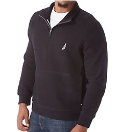 Nautica Big Man Fleece Long Sleeve 1/4 Zip Pullover Z83172