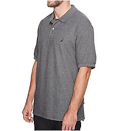 Nautica Big Man Short Sleeve Interlock Polo Shirt ZY0110