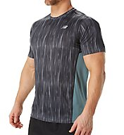 New Balance Accelerate Graphic Short Sleeve Performance Shirt MT71066