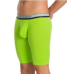 Obviously PrimeMan AnatoMAX 9 Inch Boxer Brief A01-1A