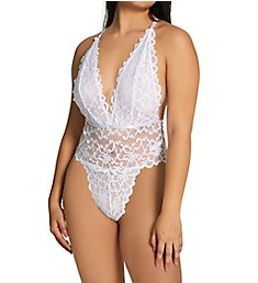 Oh La La Cheri Jeana High Leg Galloon Lace Teddy 5211156