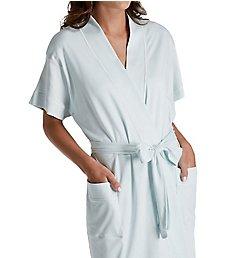 P-Jamas Butterknits Cap Sleeve Short Robe 347660