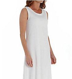 P-Jamas Ankle Length Sleeveless Butterknits Nightgown 365660