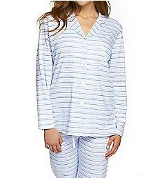 P-Jamas Our Favorite Pajamas Classic Stripe PJ Set 392506