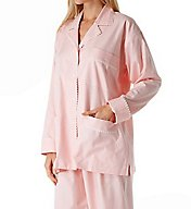 P-Jamas Summer Tattersall Pajama Set 396002