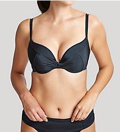 Panache Marina Padded Twist Plunge Bikini Swim Top SW0835