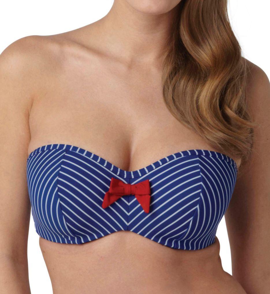 Panache Britt Bandeau Bikini Swim Top SW0923