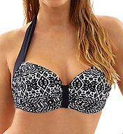 Panache Sia Molded Halter Bikini Swim Top SW1034