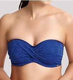 Panache Anya Crochet Bandeau Bikini Swim Top SW1253