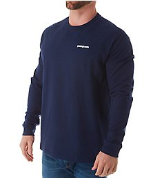 Patagonia P-6 Logo Long Sleeve Responsibili-Tee T-Shirt 38518