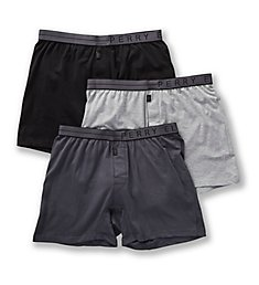 Perry Ellis Conformity Cotton Stretch Boxer Briefs - 3 Pack 208001