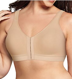 Playtex 18 Hour Cotton Comfort Front and Back Close Bra US400C