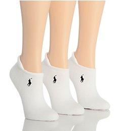 Polo Ralph Lauren Blue Label RL Sport Heel Tab Cushion Sole Sock - 3 Pair Pack 7470