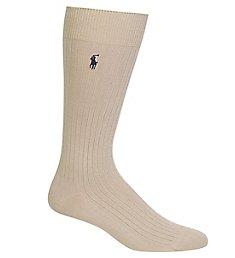 Polo Ralph Lauren Classic Solid Rib Pima Cotton Sock 8100A
