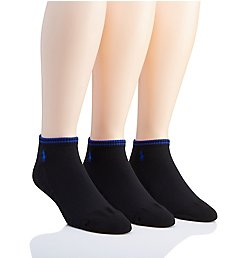 Polo Ralph Lauren Athletic Tech Low Cut Socks - 3 Pack 827042PK