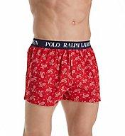 Polo Ralph Lauren Stretch Slim Fit Polo Player Woven Boxer L100RL