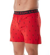 Polo Ralph Lauren Cotton Modal Side Vent Slim Fit Knit Boxer L102HR