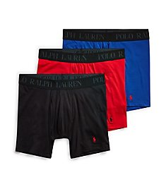 Polo Ralph Lauren 4D-Flex Cotton Modal Stretch Boxer Briefs - 3 Pack LFBBP3