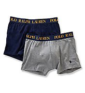 Polo Ralph Lauren Cotton Comfort Blend Boxer Briefs - 2 Pack LPBBP2
