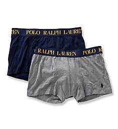 Polo Ralph Lauren Cotton Comfort Blend Trunks - 2 Pack LPTRP2