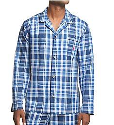 Polo Ralph Lauren Birdseye 100% Cotton Woven Sleepwear Top P199RL