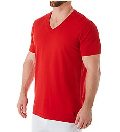 Polo Ralph Lauren 100% Cotton V-Neck Knit T-Shirt PL84SR