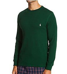 Polo Ralph Lauren Waffle-Knit Long Sleeve Crew Shirt PWLCFR