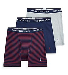 Polo Ralph Lauren Classic Fit 100% Cotton Boxer Briefs - 3 Pack RCBBH3