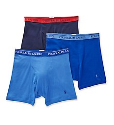 Polo Ralph Lauren Classic Fit 100% Cotton Boxer Briefs - 3 Pack RCBBP3