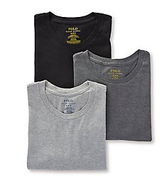 Polo Ralph Lauren Classic Fit 100% Cotton Crew T-Shirts - 3 Pack RCCNP3
