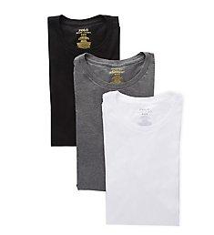 Polo Ralph Lauren Classic Fit Cotton Crew Neck T-Shirts - 3 Pack RCCNS3
