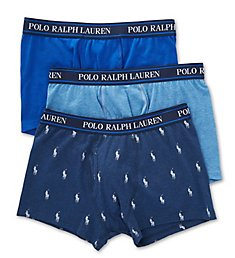 Polo Ralph Lauren Stretch Classic Fit Trunks - 3 Pack RWTRP3