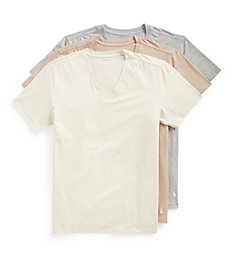 Polo Ralph Lauren Stretch Slim Fit V-Neck T-Shirts - 3 Pack RWVNP3