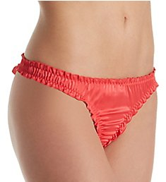 Pour Moi Contradiction All Wrapped Up Tie Back Thong 11904