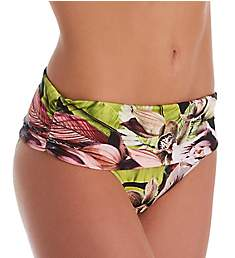 Pour Moi Orchid Luxe Fold Over Brief Swim Bottom 12903