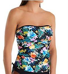Pour Moi Miami Brights Bandeau Underwire Tankini Swim Top 14108
