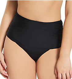 Pour Moi Space Control High Waist Brief Swim Bottom 36006