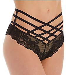 Pour Moi Contradiction Strapped High Waist Brief Panty 50009