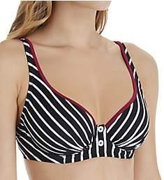 Pour Moi Starboard Underwire Plunge Bikini Swim Top 68012