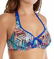 Pour Moi Aruba Underwire Halter Bikini Swim Top 71002