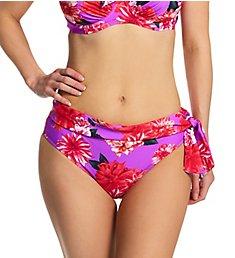 Pour Moi Getaway Fold Over Tie Brief Swim Bottom 80008