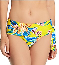 Pour Moi Heatwave Fold Over Tie Brief Swim Bottom 86003