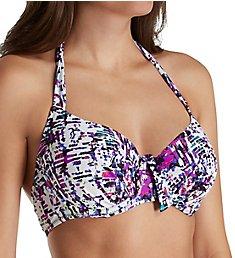 Pour Moi Mykonos Underwire Halter Bikini Swim Top 92000